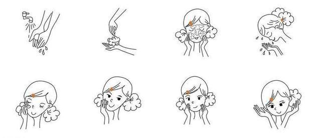 洗面奶洗脸的正确步骤,很多女生弄反了