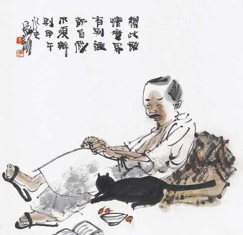 有诗有酒有高歌情趣训中国画的摩擦和文情趣王家上海生活图片