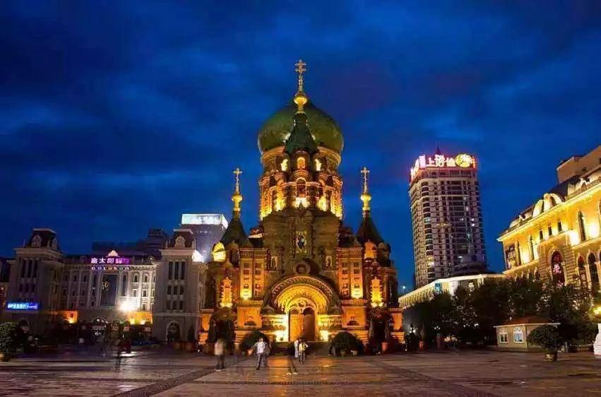 哈尔滨的地标性建筑