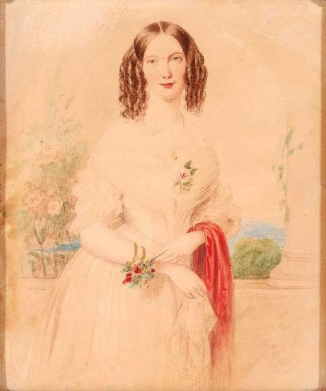 18世纪欧洲宫廷贵妇人物绘画作品欣赏 哈哈哈 第21张