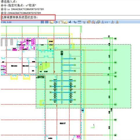 CAD文件天正成通风空调系统图和剖面图的操中生cad暖通大好图片