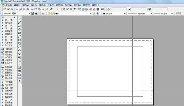 CAD中改变颜色中的布局背景天河清华cad2010图片