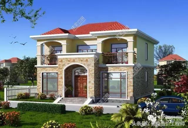 8套新农村别墅设计图纸流出,看完你还想在城市买房吗