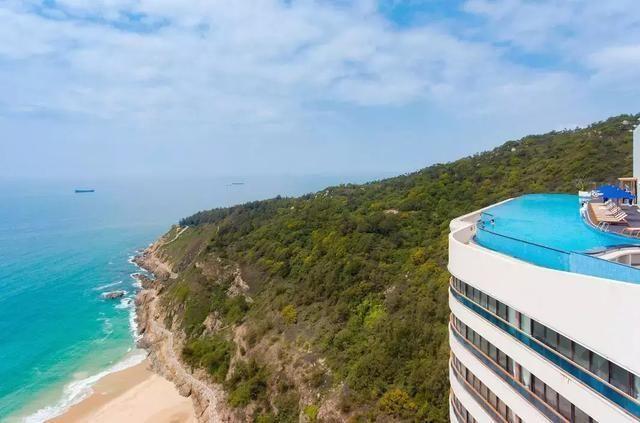 网红酒店等你来打卡,阳江海陵岛北洛秘境度假酒店~108米无边泳池