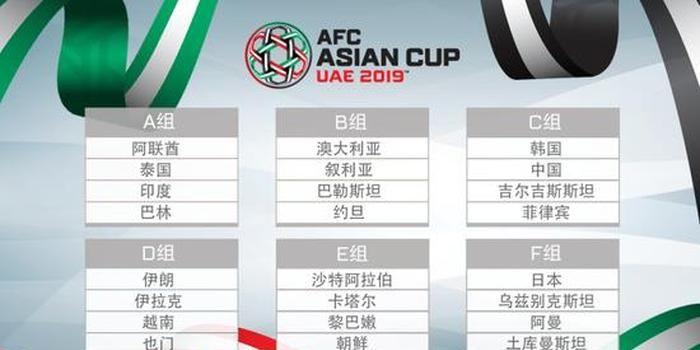 2019亚洲杯抽签规则