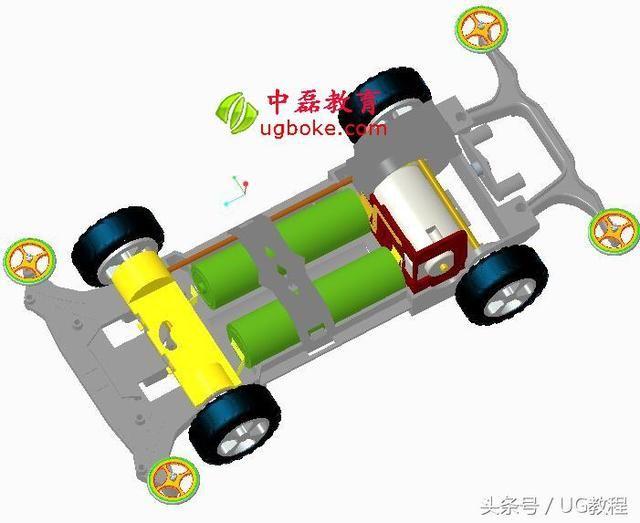 四驱车proe产品设计图档玩具车设计图纸中磊教育