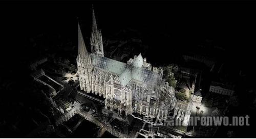 圣母院激光建模已完成重建有望大火后的圣母院看了吗