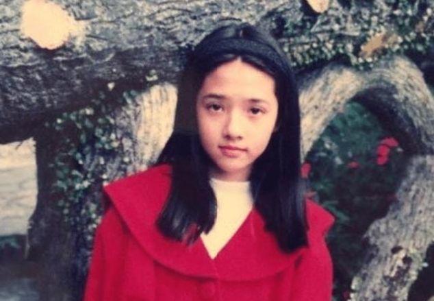 郭碧婷以前有多美?少女时代照片曝光,没想到最丑的时候是现在!