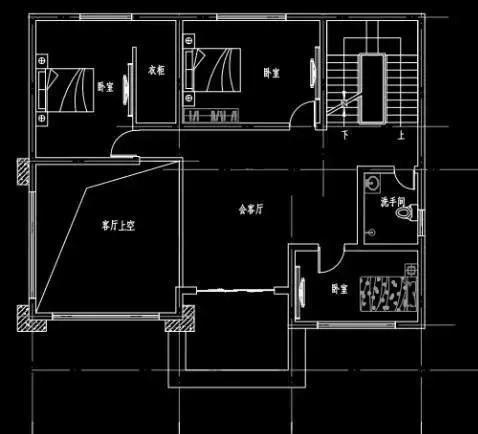 推荐 正文  这款三层农村房子设计图开间进深13.5米*12.