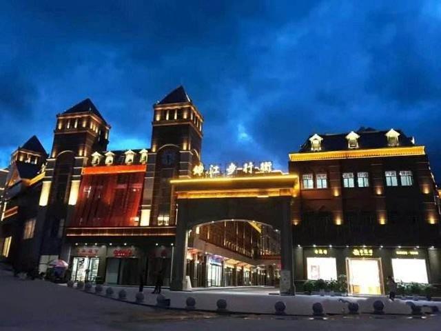 缅甸果敢老街腾龙风景