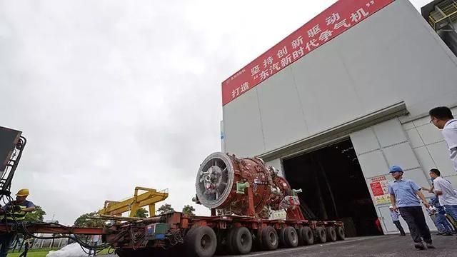国内首台自主研发F级重型燃机进入安装试验阶段