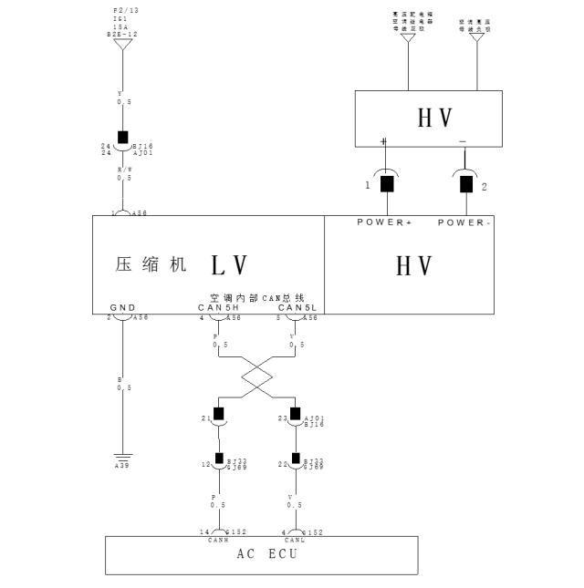 空调压缩机 控制策略 1 控制单元对压缩机控制依据 环境温度传感器
