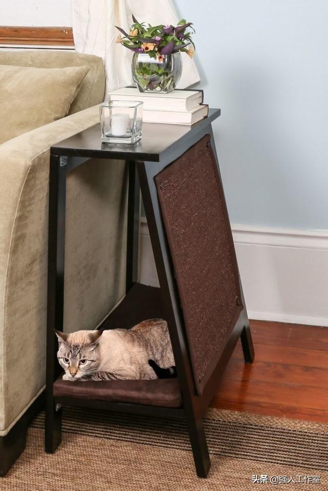 25件猫家具,让您的家保持时尚创意广告实木家具图片
