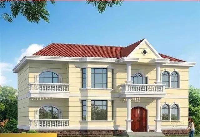 最新 农村别墅自建房设计大全,主体造价30万以内的别墅 盖房知识 图纸之家
