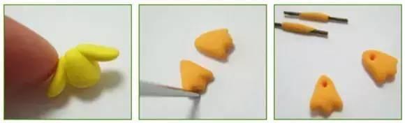 全部组合起来,可爱的橡皮泥小鸭子就做好啦~ 以下是橡皮泥手工综合素