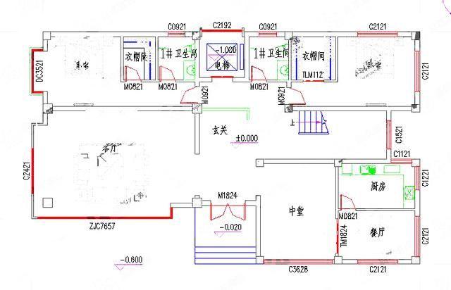 造价50万带电梯 游泳池三层别墅设计图图片