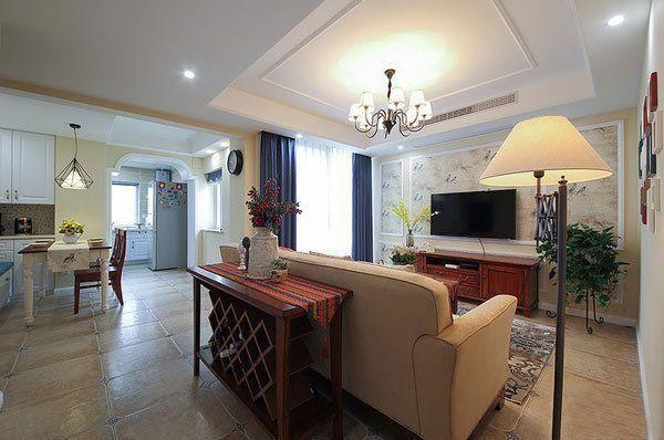 小户型老房翻新装修效果图 老房子改头换面做新房