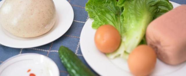 家常版的中式汉堡,七妹教你在家做,中国人的胃还需中式食材来养