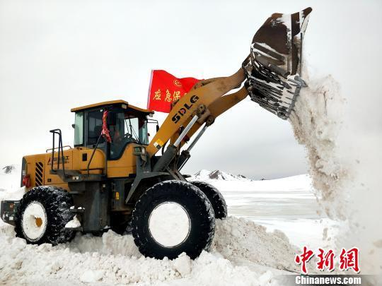 青海省大部出现降水 玛多、称多持续特重度雪灾