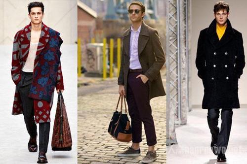 男士秋冬搭配 冬天想要时尚又温暖选对单品就可以了