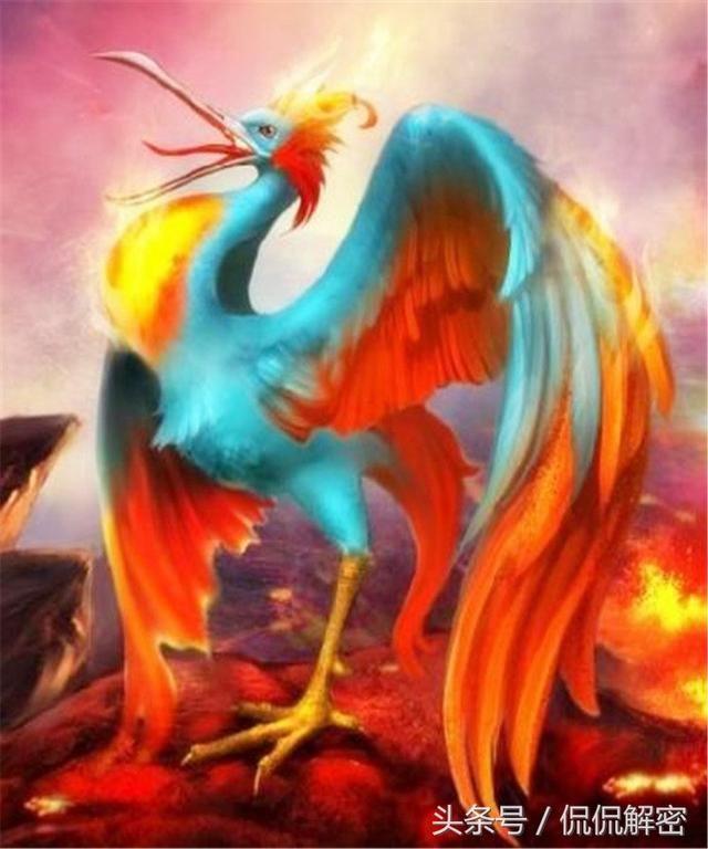 《山海经》中实力非凡的四大神兽,其中一个是百鸟之王
