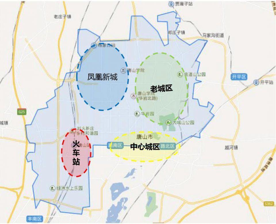 中心城区,老城区,凤凰新城和新形成的火车站板块.图片