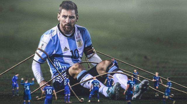 战平阿根廷,冰封梅西,冰岛队在世界杯的舞台上继续着他们的维京狮吼
