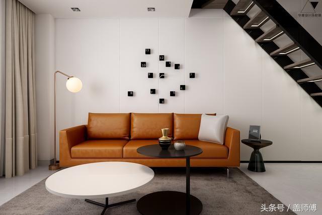 客厅沙发处透视