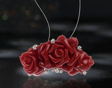 不是所有红珊瑚都可称为珠宝