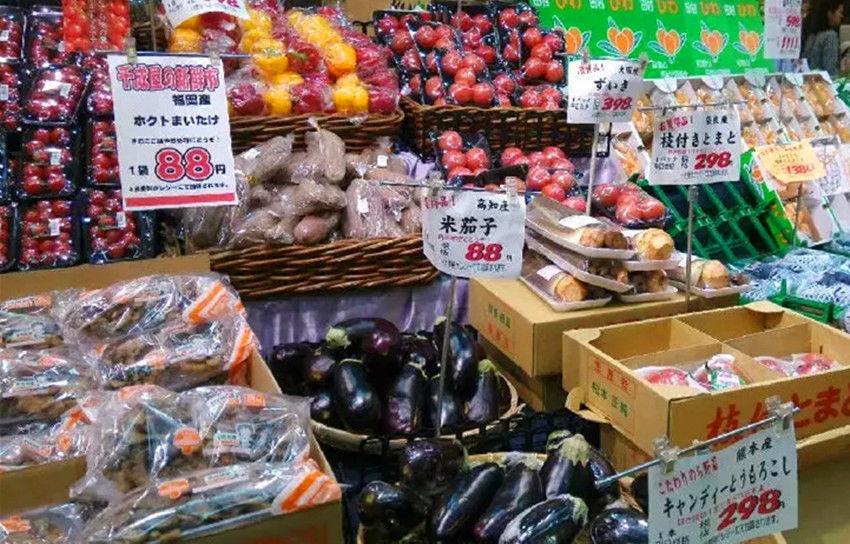 实拍日本的菜市场和夜市:有一点令人佩服