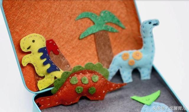 彩纸手工制作恐龙大全