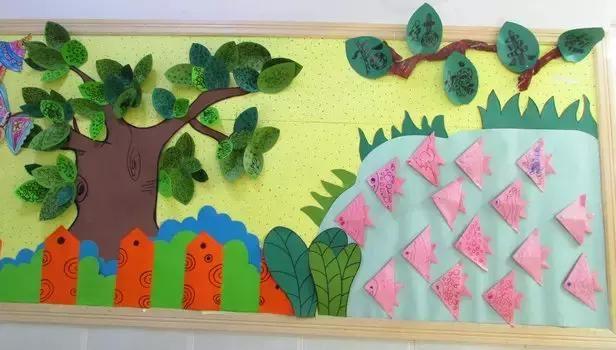 20张幼儿园春天主题墙,感受生机勃勃的自然气息,迎接新学期吧