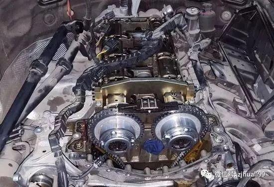 奔驰 271通病发动机凸轮轴正时故障维修图解