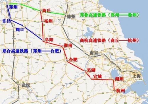 我国正在修建的一条重要铁路,建成后将推动华东大发展